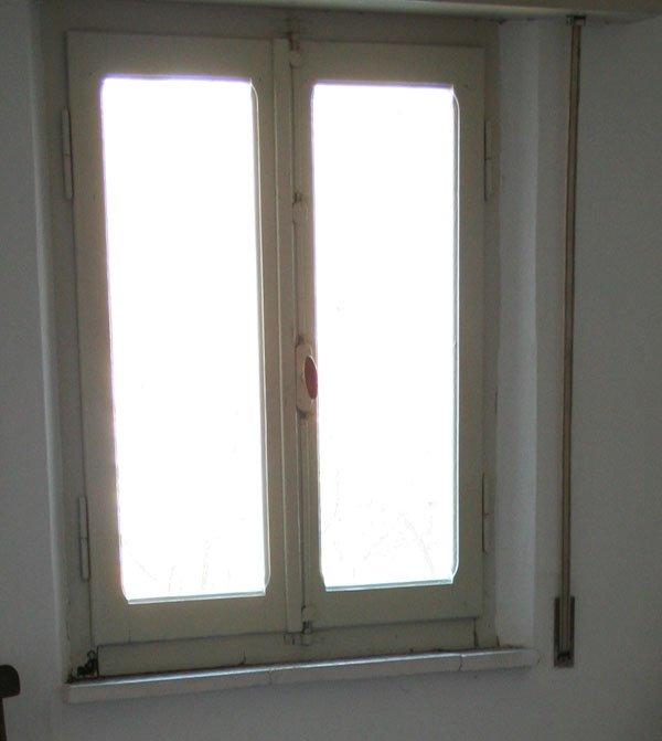 Le finestre in legno legno verniciato o legno stile vintage shabby villa villacolle - La casa con le finestre che ridono ...