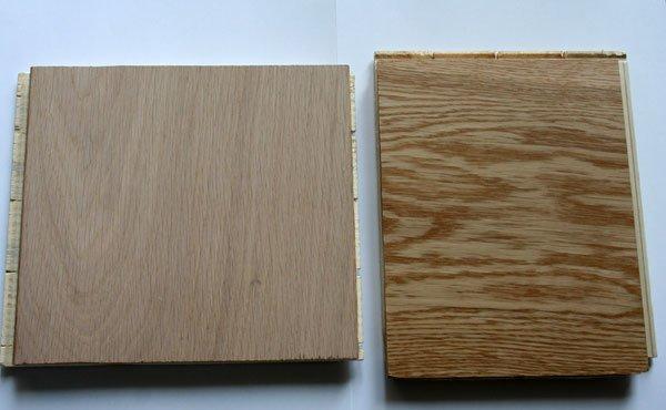 Legno Naturale Sbiancato : Il pavimento in tavolato in legno naturale o sbiancato villa