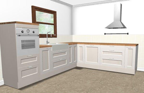 Cucina con finestra sul lavello cucine moderne con - Cucine con finestra sul lavello ...