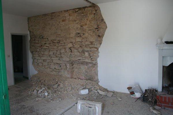 Cucine Con Pietra A Vista : un bel muro a pietra che sicuramente ...
