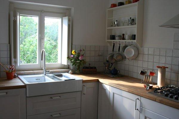 Lavello Mobile Per Cucina Colore Bianco 120x50 Montaggio Rapido E ...