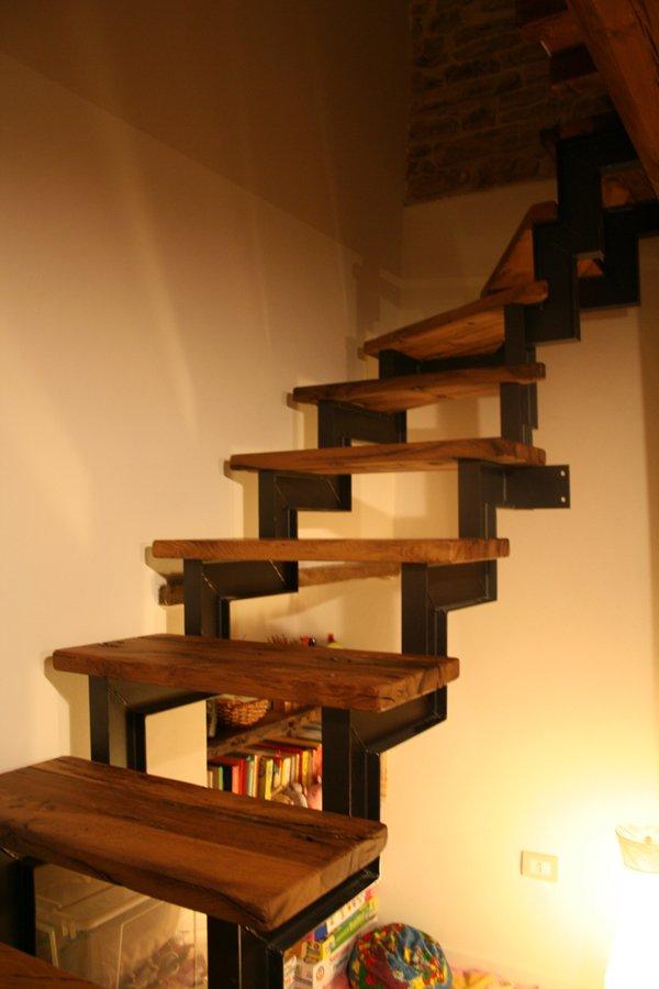 cucine sotto le scale : Sotto alla scala c?era una vecchia cucina murata che avrei tanto ...