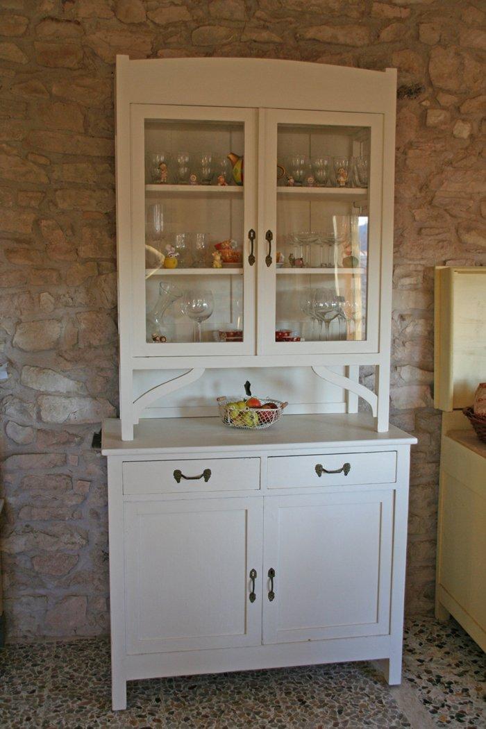 C 39 era una volta una vetrina villa villacolle - Vetrina per cucina ...