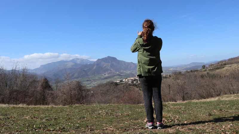 Un panorama mozzafiato: il Monte Strega