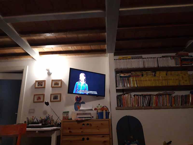 Climate strike: l'intervento di Greta al TED